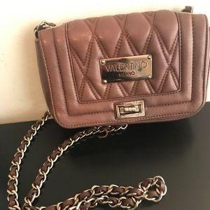 Valentino Alice Quilted Leather Shoulder Bag